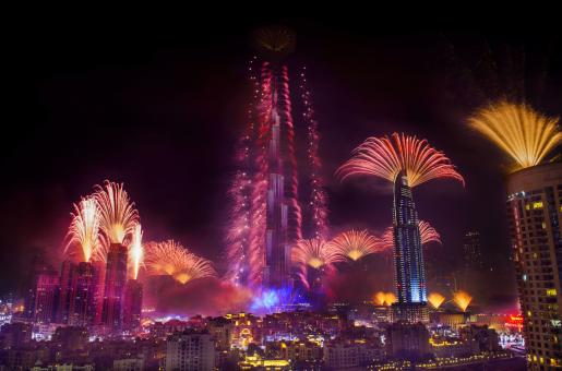 Here's All You Need to Know About New Year's Eve Fireworks in Dubai 2018
