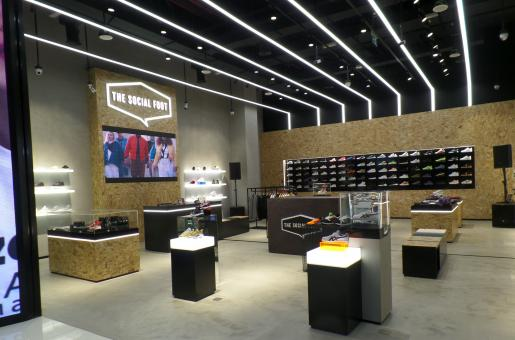 The Opening Of A New Sneaker Destination In Dubai