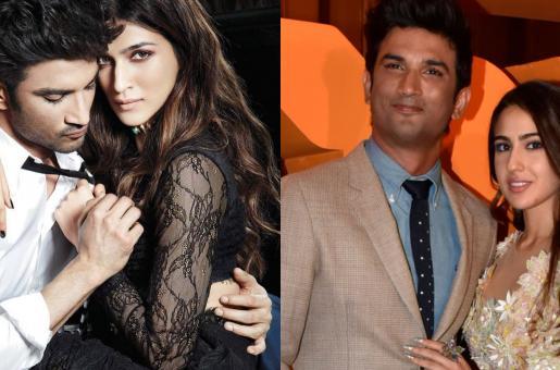 Kriti Sanon or Sara Ali Khan? What's Happening in Sushant Singh Rajput's Love life?