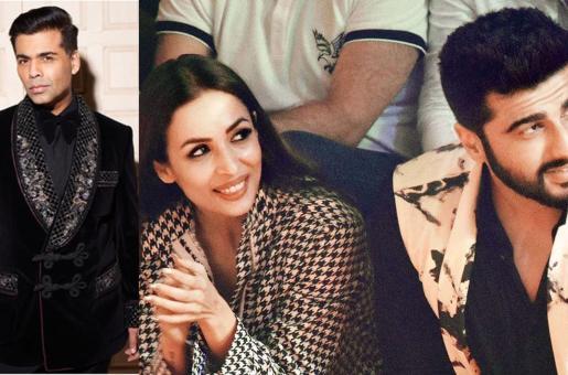 Karan Johar Confirms That Arjun Kapoor and Malaika Arora Are Dating!