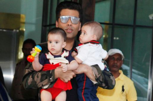 This is Why Karan Johar Wants to Keep his Kids Away from the Paparazzi
