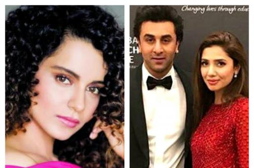Did Kangana Ranaut Just Take a Dig at Ranbir Kapoor's Friendship with Mahira Khan?