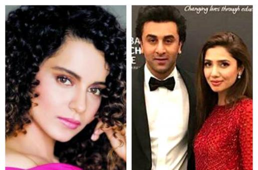 Did Kangana Ranaut Just Take a Dig at Ranbir Kapoor's Friendship with Mahira Khan?