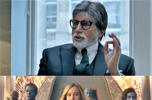 Box Office War: Amitabh Bachchan Battles Captain Marvel