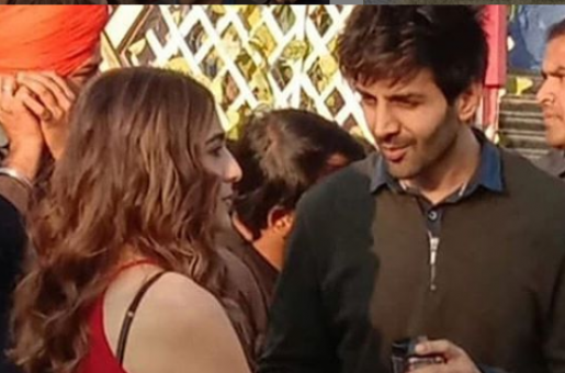 Kartik Aaryan and Sara Ali Khan Were Spotted Together Holding Hands. What's Cooking?