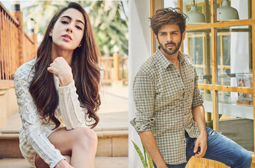 Photos and Videos of Sara Ali Khan-Kartik Aaryan From the Sets of 'Love Aaj Kal 2' Surface on the Internet