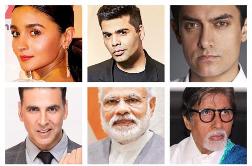 Aamir Khan, Akshay Kumar, Alia Bhatt and Karan Johar Support PM Narendra Modi's Request To Vote
