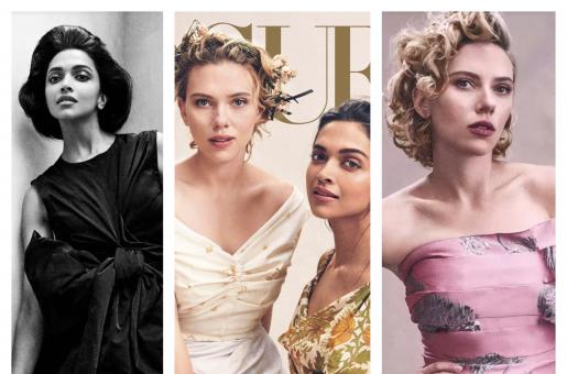 Everything Deepika Padukone and Scarlett Johansson Talked About During Their Vogue Shoot