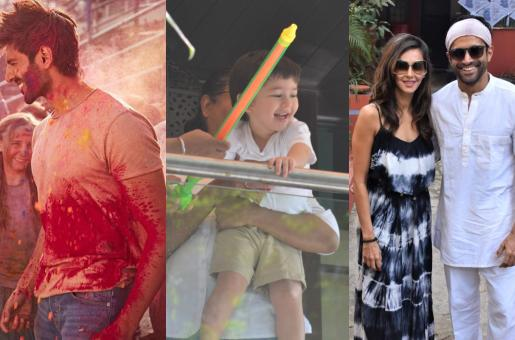 Holi 2019: How Stars of Bollywood Celebrated This Year
