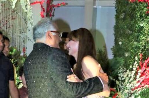 "Boney Kapoor Allegedly Touches Urvashi Rautela ""Inappropriately""; The Actress Slams 'Disrespectful' Reportage"