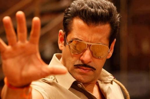 Salman Khan Dances to 'Dabangg 3' Song in Mandleshwar
