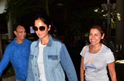 Katrina Kaif and Yasmin Karachiwala Step Out Smiling! See Pics