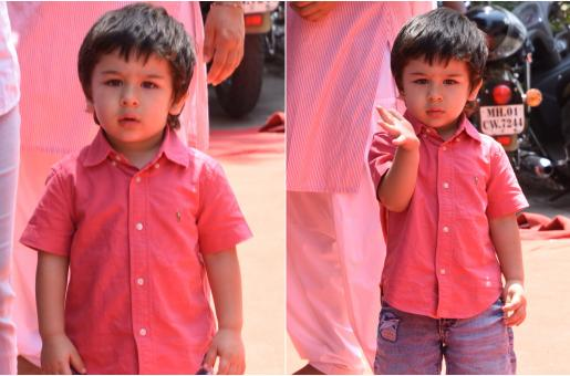 Aww! Taimur Ali Khan Can't Get Enough Of The Paps