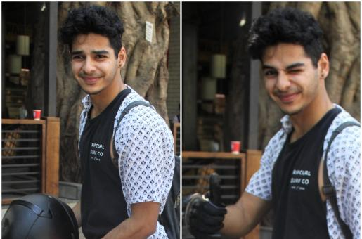 Ishaan Khatter Is A Motorcycle Stud