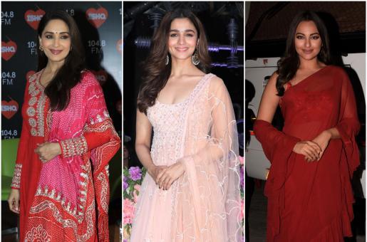 Alia Bhatt, Sonakshi Sinha, Madhuri Dixit And More: The 'Kalank' Stars' Best Style Moments