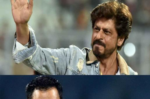 Shah Rukh Khan Waves at Dhoni, Did He or Didn't he?