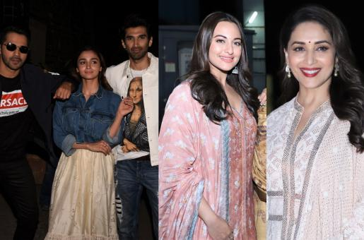 Alia Bhatt, Varun Dhawan, Aditya Roy Kapoor And More: Celebs Attend Special 'Kalank' Screening