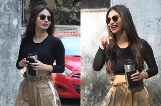 Mouni Roy Rocks Athletic-Chic