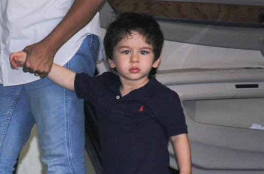 Mumbai Police Take Action Against Photographers Clicking Taimur Ali Khan