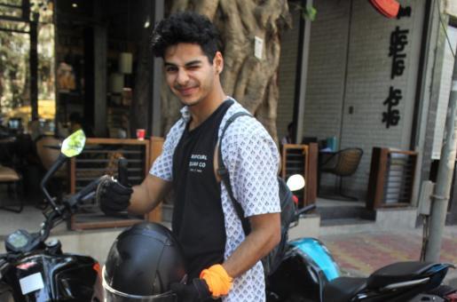 Mumbai Police Fines Ishaan Khatter; Tows Away His Bike