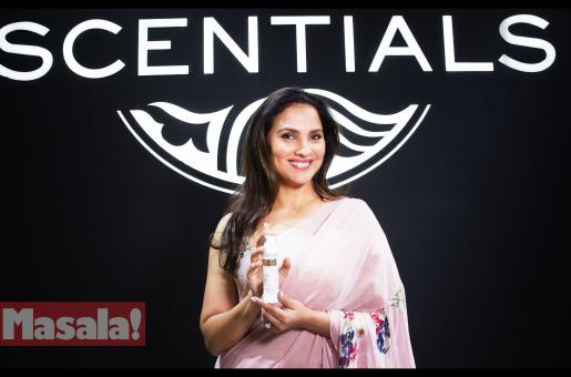 Lara Dutta Launches 'Arias' A Skincare Brand from Scentials, at Beauty World Middle East