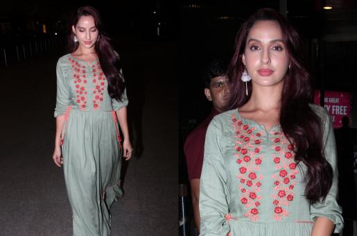 Nora Fatehi Is Totally Glam At The Airport