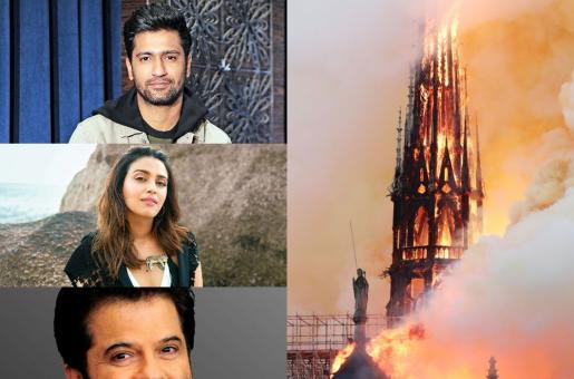 Notre-Dame Cathedral in Ashes; Bollywood Celebrities React to the Loss of the Historic Paris Landmark