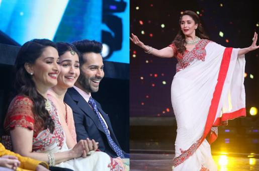 Madhuri Dixit, Alia Bhatt and Varun Dhawan Take To The Stage For 'Kalank' Promos