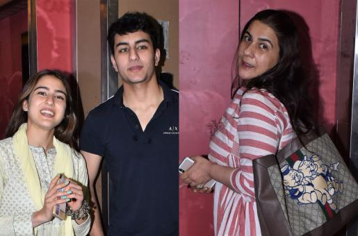 Sara Ali Khan Has A Family Day Out!