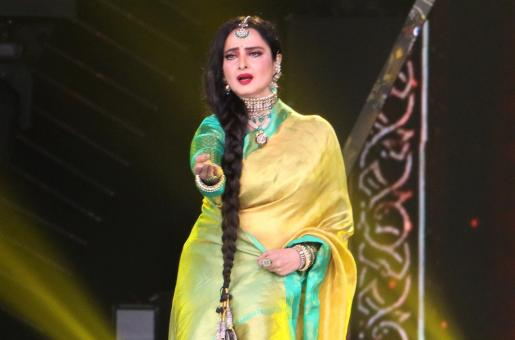 Rekha Stuns Viewers With Her Beauty And Grace! See Pics