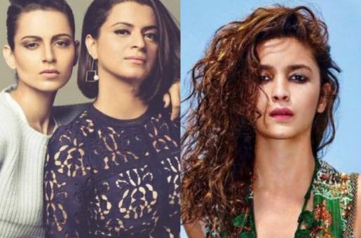 "Kangana Ranaut's Sister Rangoli Chandel Hits Back at Alia Bhatt ""You (Alia) Go Quiet Darling…Take a Seat Now"""