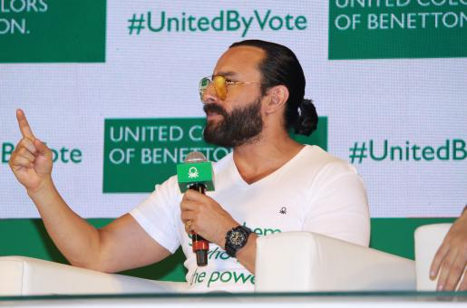 Saif Ali Khan Encourages Young People to Vote