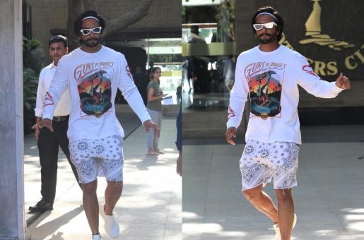 Ranveer Singh Is A Knockout In His Casual Fashion! See Pics