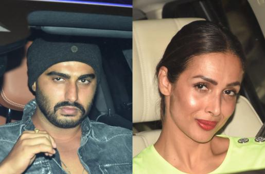Malaika Arora and Arjun Kapoor Attend Maheep Kapoor's Birthday Bash!