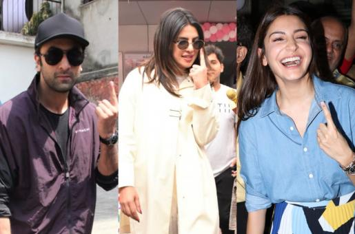 Ranbir Kapoor, Priyanka Chopra, Anushka Sharma and More: Bollywood Stars That Voted Today