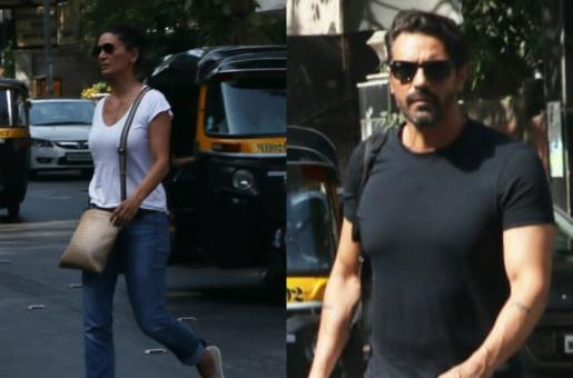 Arjun Rampal Seen With Ex-Wife Mehr Jesia Days After His Girlfriend's Pregnancy Announcement