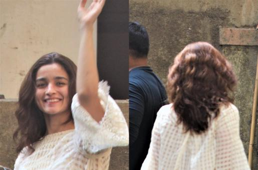 Alia Bhatt Showed Off Her Natural Waves and Looked Gorgeous!