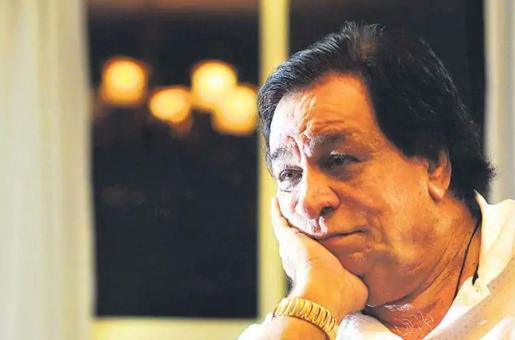 Kader Khan's Son Receives Father's Padma Shri