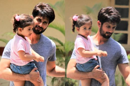 Shahid Kapoor Was Spotted With His Daughter and They Looked Super Adorable!
