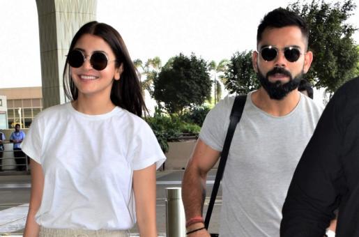 Anushka Sharma and Virat Kohli are Couple Fashion Goals at the Airport!