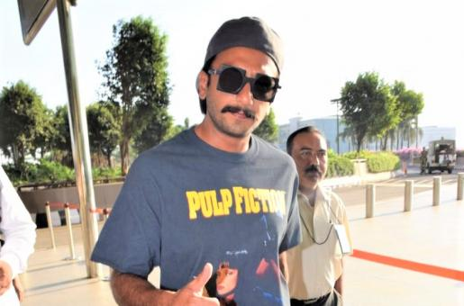 Ranveer Singh's Recent Airport Fashion Is Less Wacky Than Usual