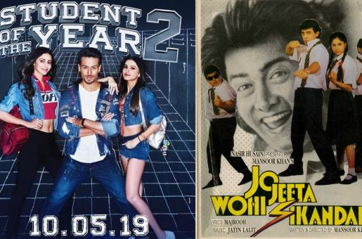 Is Student of the Year 2 Inspired by Jo Jeeta Wohi Sikandar?