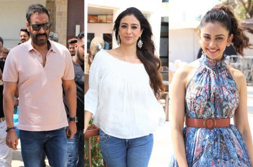 Ajay Devgn, Tabu and Rakul Preet Singh Gear Up for De De Pyaar De