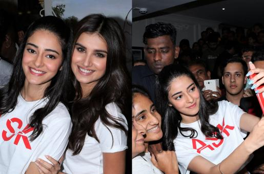 Ananya Panday and Tara Sutaria Get Swarmed With Fans During SOTY 2 Promos