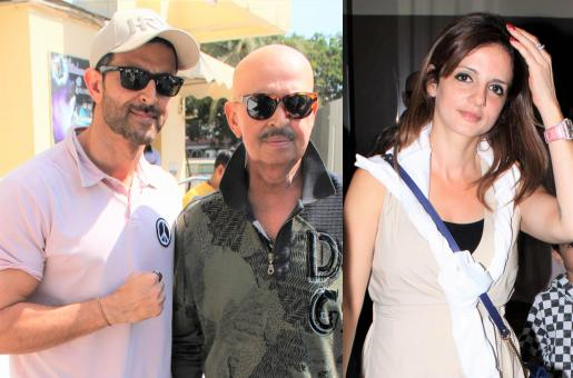 Hrithik Roshan and Family Celebrate Mother's Day for Ex-Wife Sussanne Khan