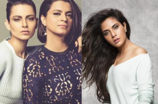 """Kangana Ranaut's Sister Rangoli Chandal Abuses Richa Chadha, Asks the Actress to """"Take a Seat"""""""
