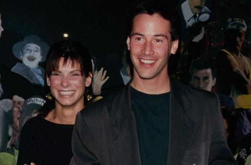 Keanu Reeves Reveals He Once Had a Crush on Sandra Bullock
