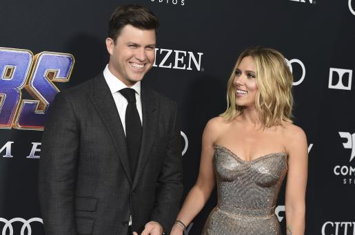 Scarlett Johanssonn and Colin Jost are the Power Couple You Needed to See Today
