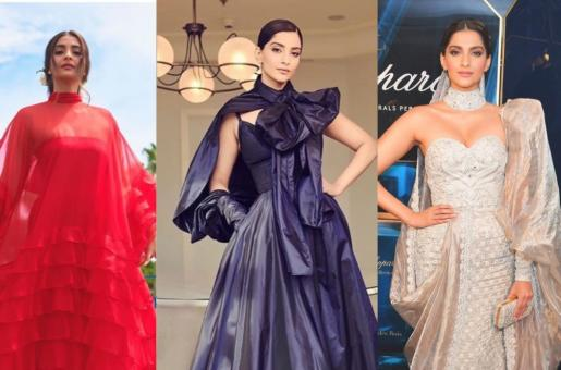 Sonam Kapoor Owned Cannes 2019 Red Carpet With These Looks