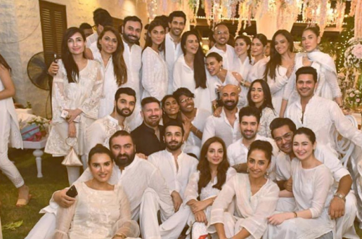 Couples Hania Aamir-Asim Azhar and Iqra Aziz-Yasir Hussain Gather for Celeb Iftar Party